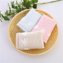 2019 new cloud white cotton double gauze wash childrens small towel