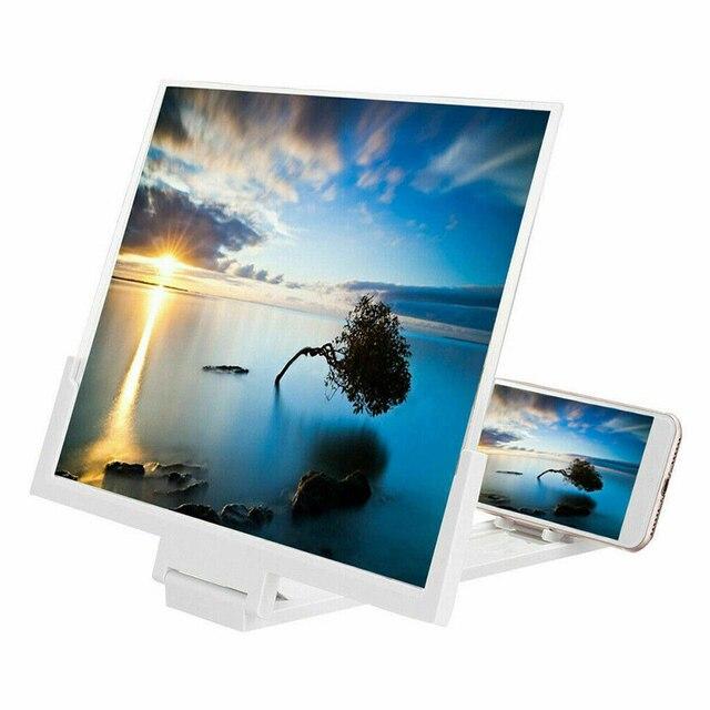 14 インチ 3D hd 電話スクリーン拡大鏡アンプ映画ビデオ引伸画面 DU55