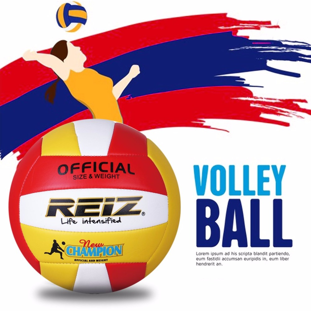 2019 Soft PU Official Size 5 Volleyball Professional Indoor & Outdoor Training Ball With  Gift Net Needle