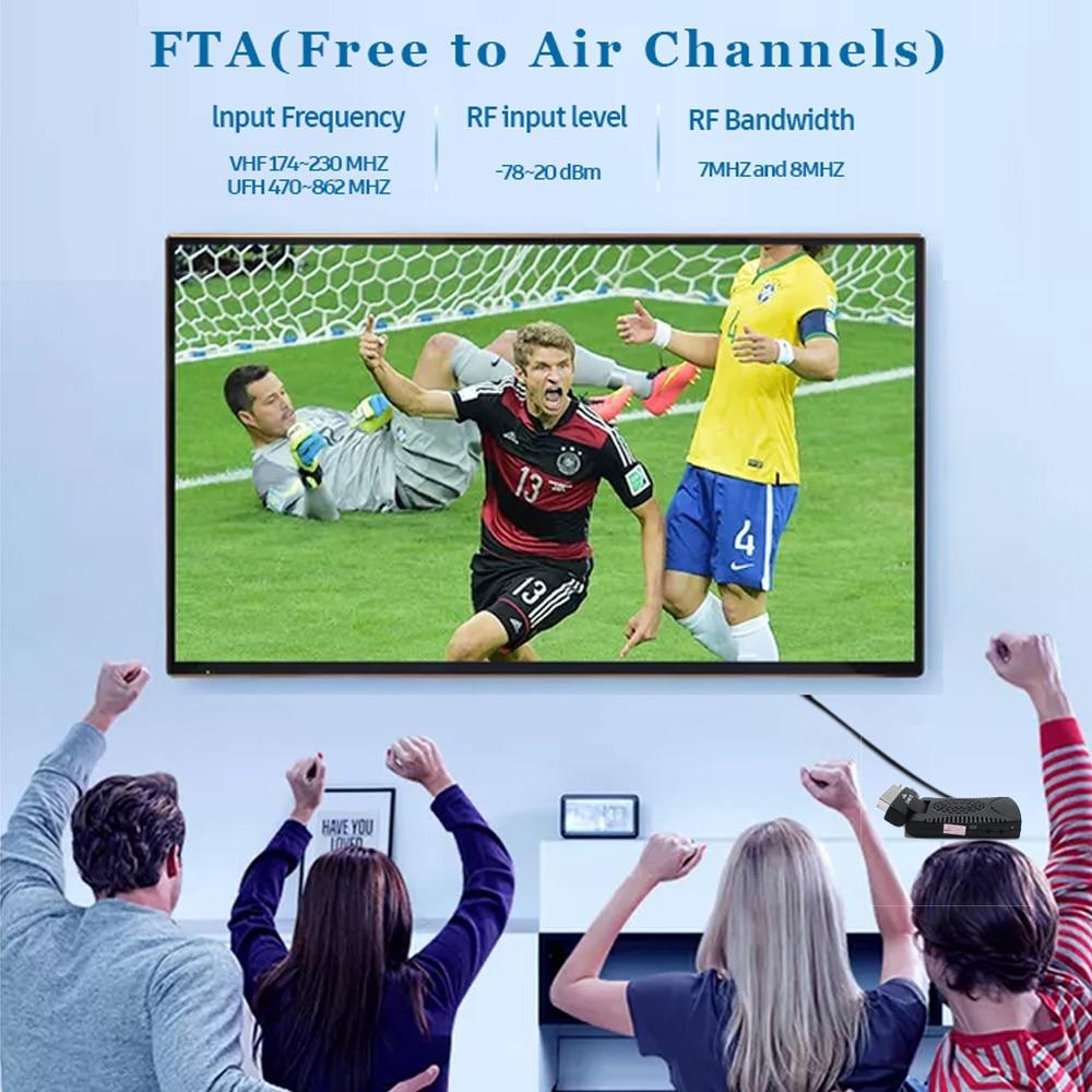 DVB-T2 H265 Scart TV Tuner Box Digital Terrestrial Receptor WIFI Receiver Youtube Set Top Box 1080P IPTV Box 13