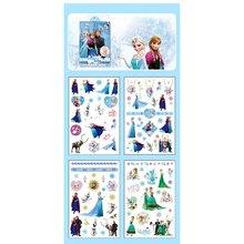 Adesivos congelados crianças diy tatuagem adesivo pvc pegatinas 3d cartoon adesivo autocollant stikers carro 3 adesivo 2019