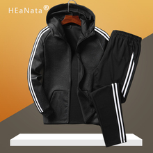 Sporting Suits Men Loose Tracksuits Sets Autumn Winter Fitness Gym Track Suits Mens Warm Jogging Exercise Outfit Clothing Male
