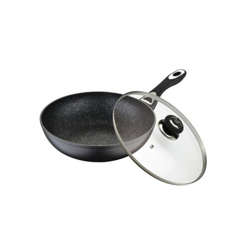 Frying Pan WELLBERG, 28 Cm, With Cover