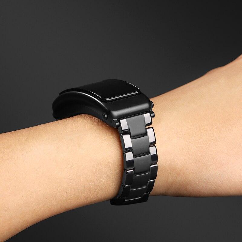 pulseira de ceramica para huawei talkband b5 04