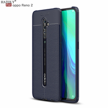 HATOLY Case For OPPO Reno2 Pattern PU Le