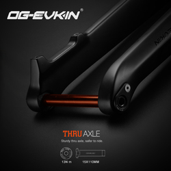 OG-EVKIN fk007 29er garfo de carbono downhill mtb bicicleta garfo dianteiro 1-1/8