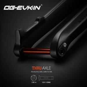 OG-EVKIN FK007 29er углеродная горная вилка MTB велосипедная передняя вилка 1-1/8 дюйма-1-1/2 дюйма горный велосипед жесткие вилки сквозная ось 15x110 мм 28,6