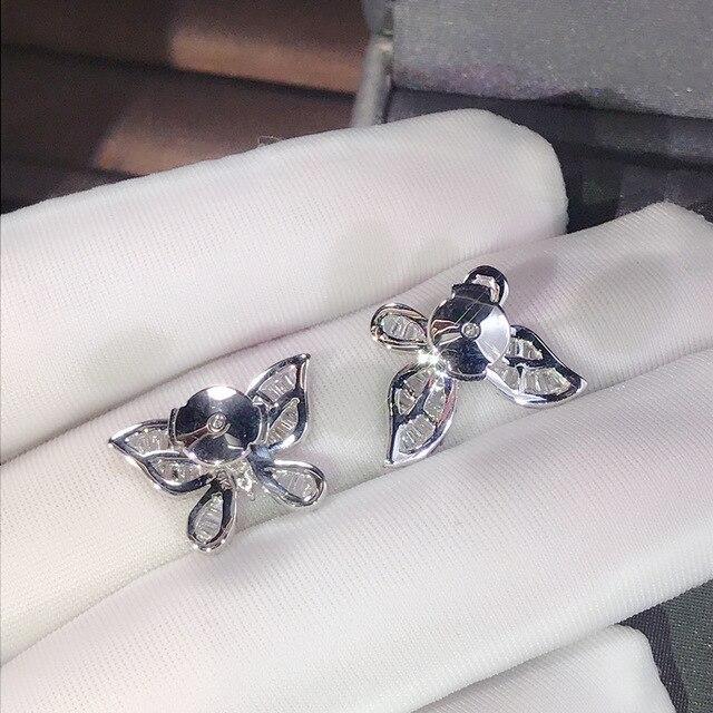 Cute Silver Butterfly Stud Earrings with Bling Zircon Stone for Women Fashion Jewelry Korean Earrings 925.jpg 640x640 - Cute Silver Butterfly Stud Earrings with Bling Zircon Stone for Women Fashion Jewelry Korean Earrings 925 Sterling Silver Color