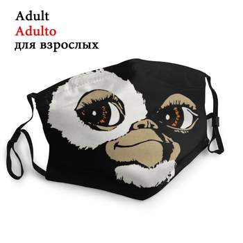 Gremlins Gizmo Adult Non-Disposable Face Mask Monster Anti Haze Dust Mask Protection Mask Respirator Mouth Muffle