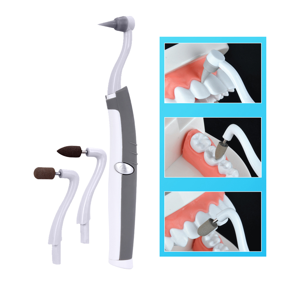 Teeth Whitening Dental LED Sonic Vibration tooth grinder multifunction Sonic teeth whitening stain eraser image