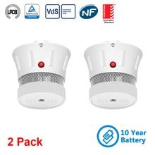 Alarm-Detector-Sensor Smoke Fire-Alarm Cpvan Home-Security for Ce-Certifed 2pcs/Lot EN14604
