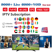 New Stable World IPTV Italy M3U France 4K Spain 1 Year Subscription German Poland UK portugal for Smart TV
