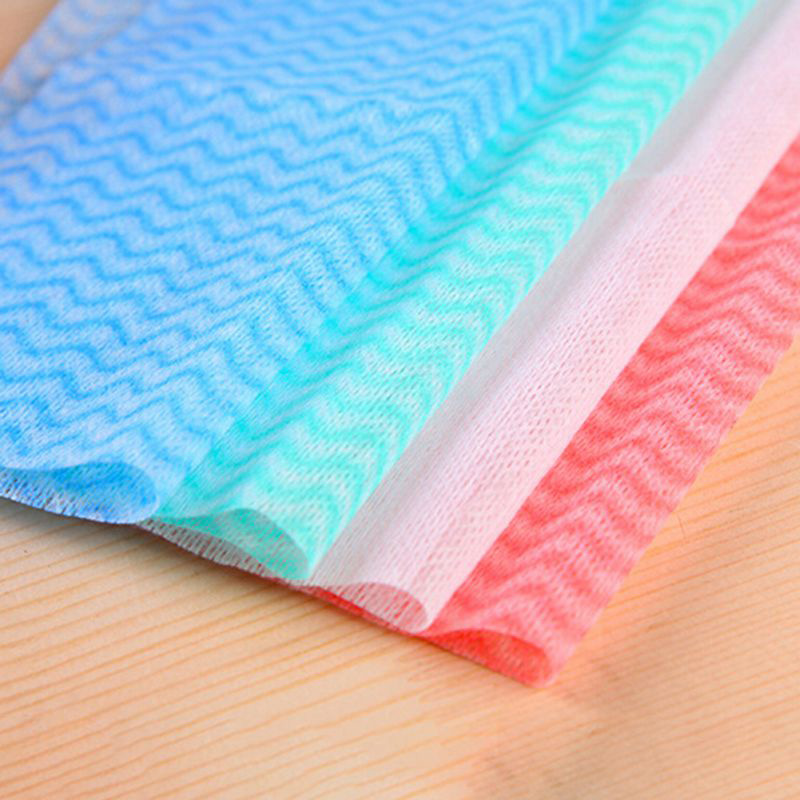80Pcs pack Disposable Non woven Kitchen Towel Household Kitchen Multi purpose Dish Cleaning Cloth Bathroom Removable Dry Towel in Cleaning Cloths from Home Garden