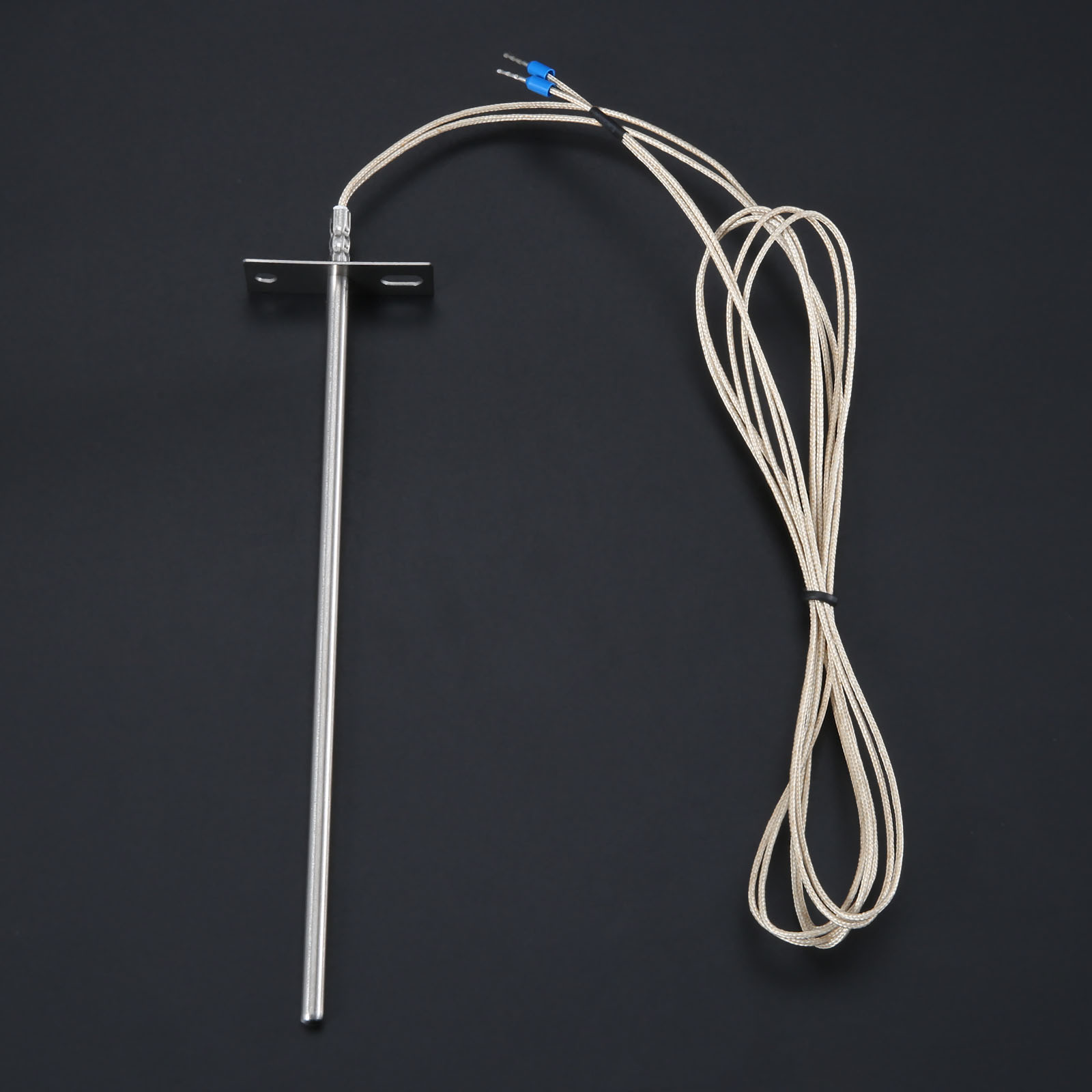 Replacement Temperature Probe TR-180P1200L RTD Temperature Probe Sensor Replacement Fits For Traeger Wood Pellet Grill