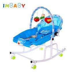 IMBABY Baby Bett Zimmer Dekoration Mit Licht Musik Player Wiege Schaukeln Für Baby Kinder Stubenwagen Schaukel Stuhl Für Neugeborene