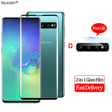2-in-1 Camera Glass Film For Samsung S10 Screen Protector Protective S10e Tempered Plus