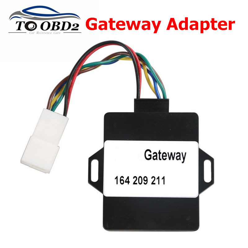 Newest For Mercedes For BENZ A164 W164 Gateway Adapter For VVDI MB BGA TOOL And NEC PRO57 Free Shipping