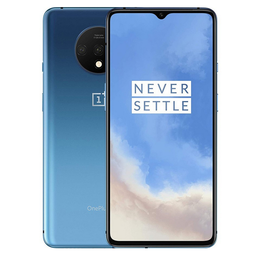 """Global Firmware Oneplus 7T 8GB 128GB 256GB Mobile Phone Snapdragon 855 Plus 6.55"""" 48MP Triple Camera 4G Android 10.0 NFC Phone"""