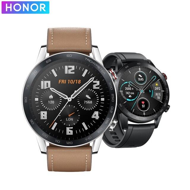 HONOR Watch Magic 2 montre intelligente Bluetooth appelant Bluetooth 5.1 Smartwatch oxygène du sang 14 jours appel téléphonique fréquence cardiaque