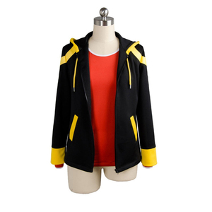 Disfraz de cosplay de Anime mystic messenger 707, saeyoung luciel choi, atuendo para halloween, disfraces, chaqueta con capucha, Sudadera con capucha, conjunto de abrigo, camiseta