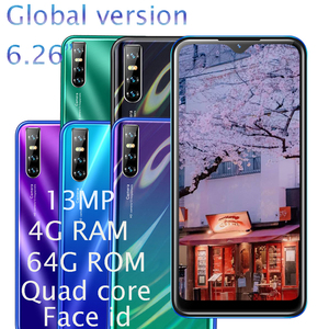 Mate20 Pro 4G RAM Smartphones 64G ROM Water Drop Screen Quad Core MT6580 Android Mobile Phone 6.26