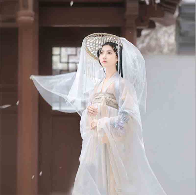 Women Hanfu Traditional Ancient Chinese Tang Dynasty Costume Female Halloween Cosplay Costume Outfit For Women Plus Size 2XL