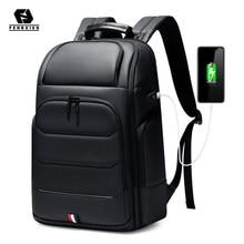 Fenruien wodoodporne plecaki USB ładowanie tornister Anti-theft mężczyźni plecak Fit 15.6 Cal Laptop plecak podróżny o dużej pojemności