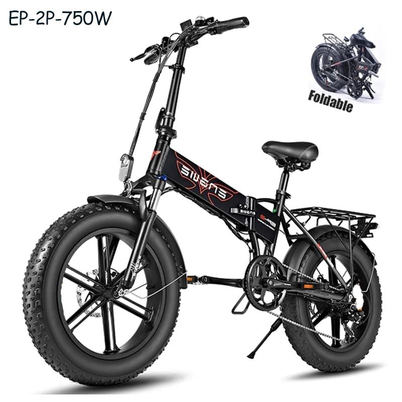 (ЕС аист) Электрический велосипед 48V12.8A 20*4,0 с толстыми покрышками для снежной погоды Байк, способный преодолевать Броды Алюминий 750 Вт Мощный...