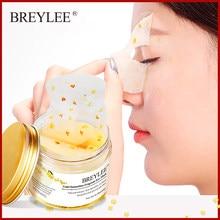 BREYLEE-Parche máscara de ojos para eliminar ojeras bolsas para ojos, suero hidratante antienvejecimiento, blanqueador, crema para el cuidado de la piel facial, 50 unidades