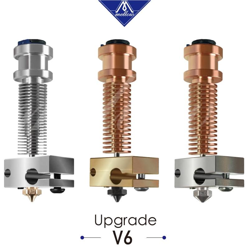 Mellow  All Metal NF Smart- V6 Hotend Extruder Kit For Upgrade E3D V6 Hotend Ender 3 Prusa MK3 BMG Extruder 3D Printer Parts