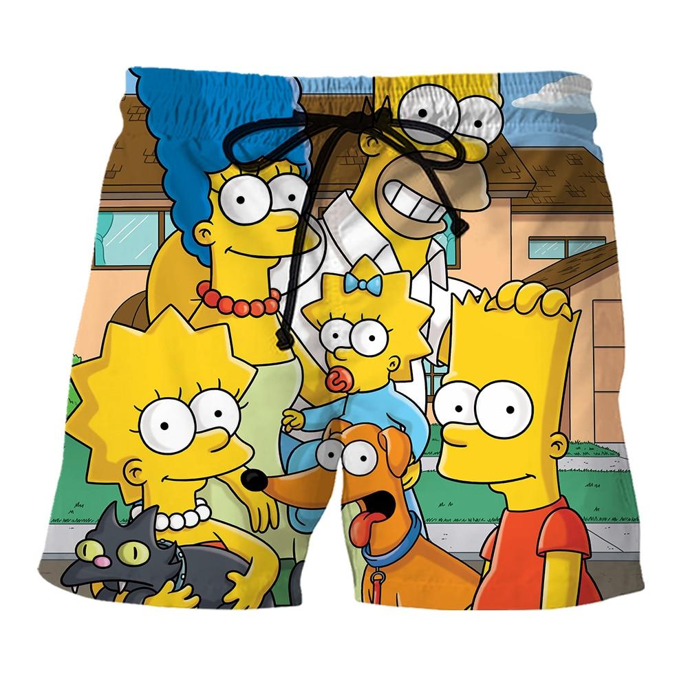 3d Print Simpsons Cothes Men Hoodie Shorts Home Harajuku Sweatshirt/shirts/pants Hip Hop Hoody Streetwear Coat Send Gift