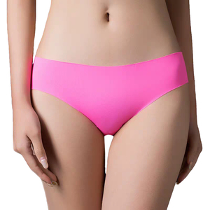 3pcs/lot Sexy Panties For Women Briefs Set Seamless Lingerie Solid Mid-Waist Cotton Panty Female Underpants Underwear #F(China)