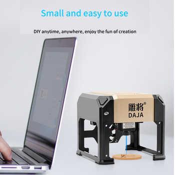 3000mw Mini Laser Engraving Machine Small Portable Marking Lettering DIY Logo Mark Printer Electric Wood Carving Machine