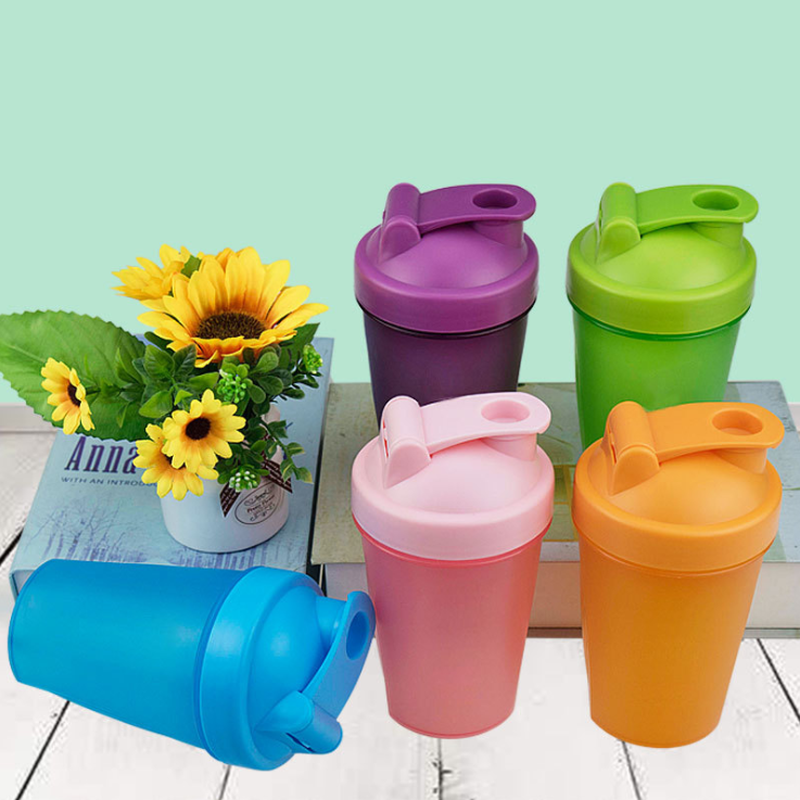 Sport Shaker Water Bottle Whey Protein Powder Mixing Bottle Portable Gym Fitness Kettle Outdoor Camping Climbing Bottle 400ML