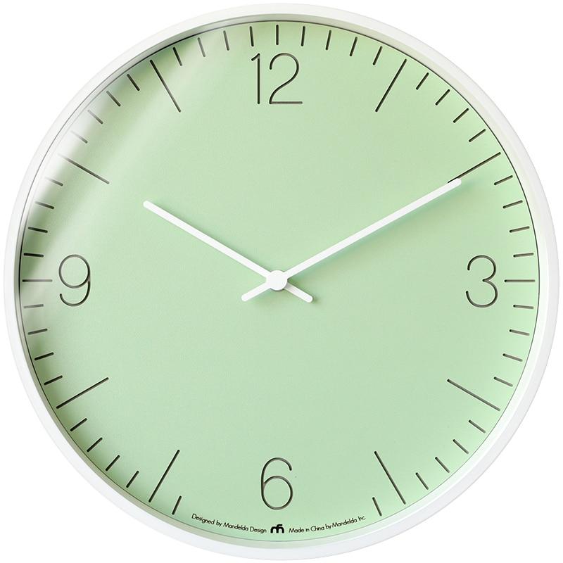 Modern Wall Clock Wood Luxury Clocks Wall Home Decor Living Room Nordic Bedroom Silent Wall Watch Orologio Da Parete Gift FZ328