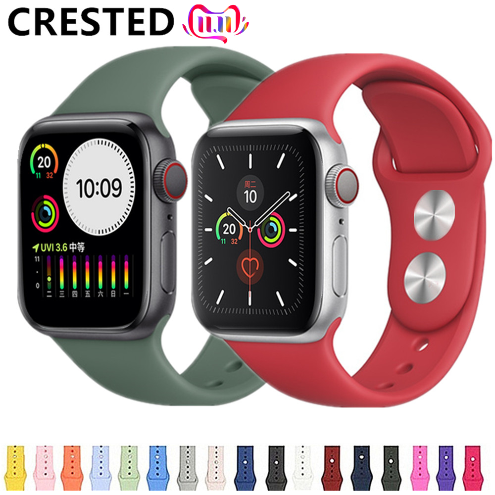 Strap For Apple Watch Band Pulseira Apple Watch 4 5 3 Band 44mm/40mm Iwatch Band 5 4 42mm 38mm Correa Bracelet Watch Accessories