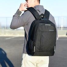 Anti vol homme sac à dos toile hommes sac à dos pour ordinateur portable prise casque adolescent sacs décole Mochilas mâle étudiant sac à dos