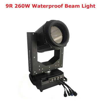 Waterproof Moving Head 260W 9R Outdoor Beam Moving Head Light Sky Super Beam 260W Beam 9R DMX 512 Control Stage Lighting Effect exponentially weighted moving average control chart