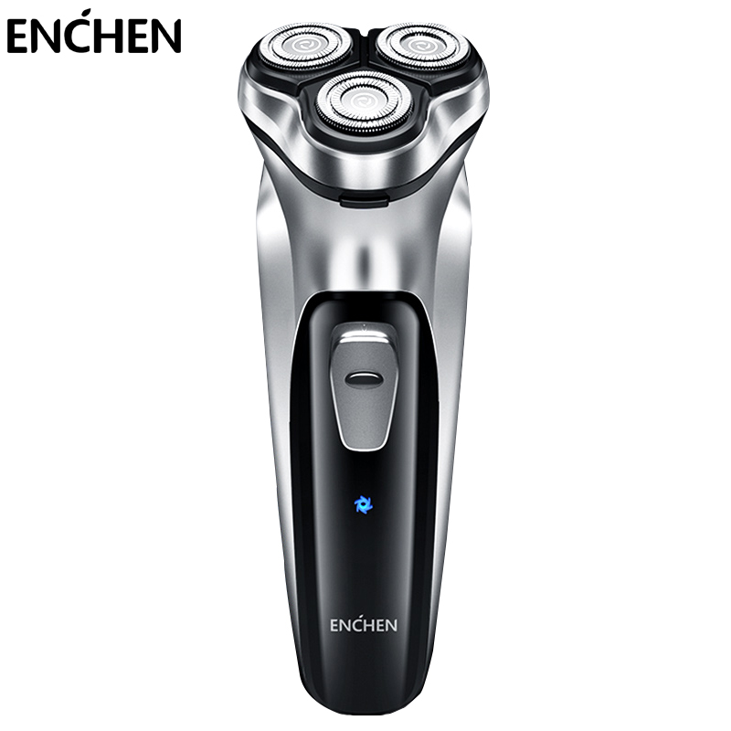 ENCHEN Blackstone Electric Face Shaver Razor For Men 3D Floating Blade Washable USB Rechargeable Shaving Beard Machine