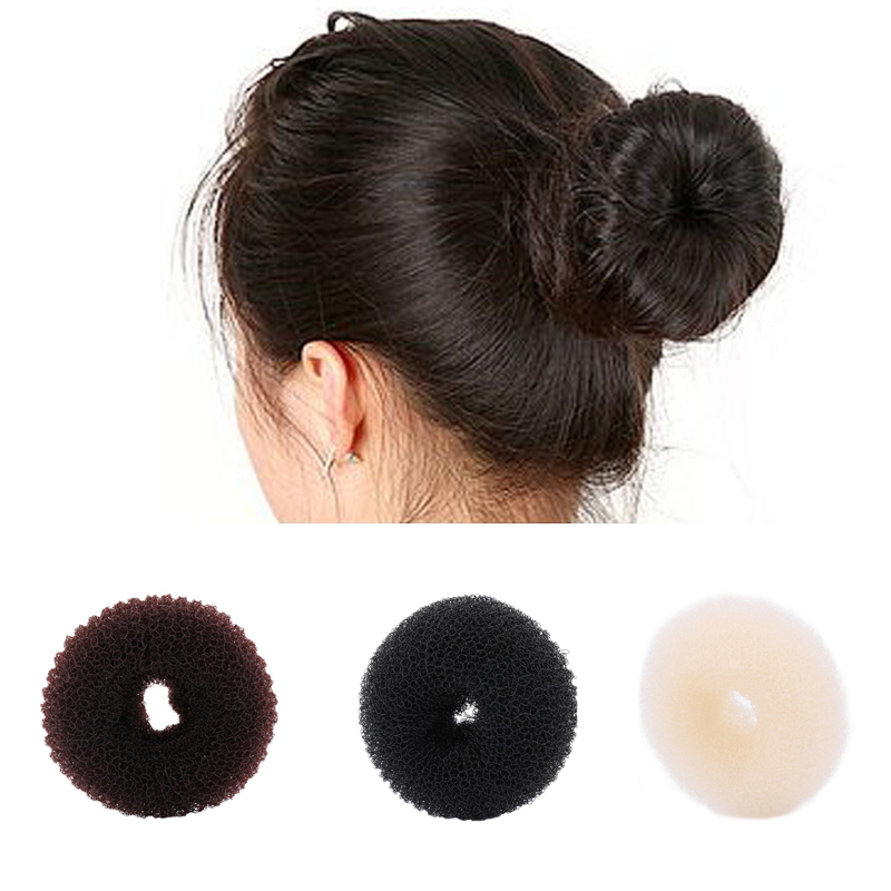 Novelty Fashion Elegant Women Ladies Girls Hair Ring Bun Fashion Styling Tools Accessories Magic Shaper Donut