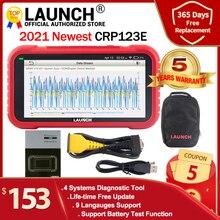 Launch X431 CRP123E OBD2 Diagnostic Tool Eng Abs Airbag Srs Op Creader 123E Obdii Eobd Code Reader Scanner