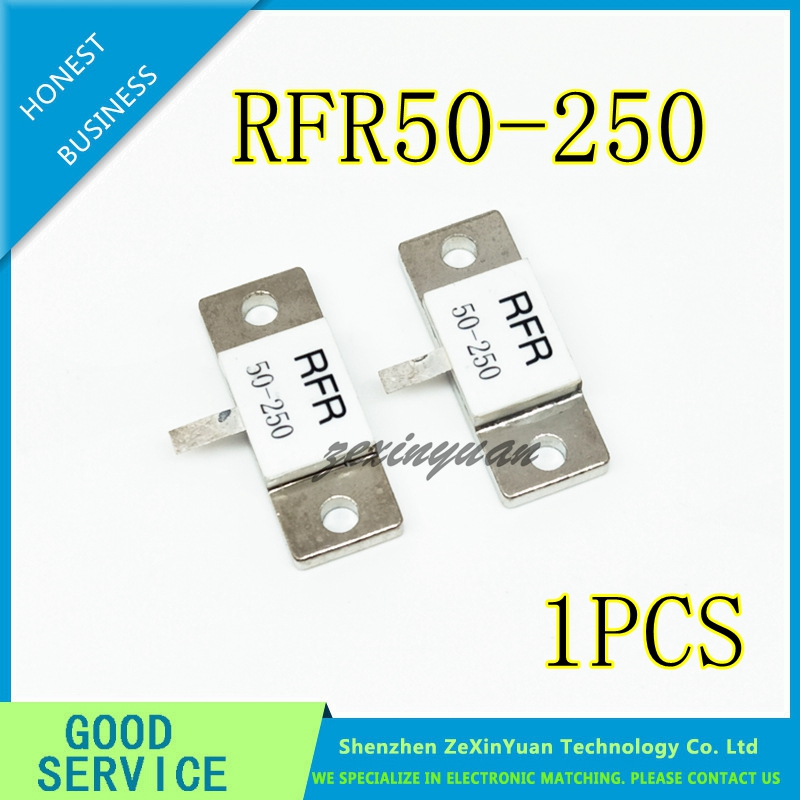 1PCS 100% NEW High Frequency Resistance RFR50-250 RFR 50-250 RFR-50-250 50 Ohms 250W Dummy Load Resistor