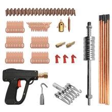 86pcs Dent Puller Kit Car Repaire Tools Spot Welding Electrodes Spotter Welder Machine Dents Remover Device