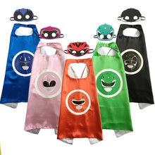 Trajes para crianças power cape halloween natal festa de páscoa aniversário cosplay roupas capa