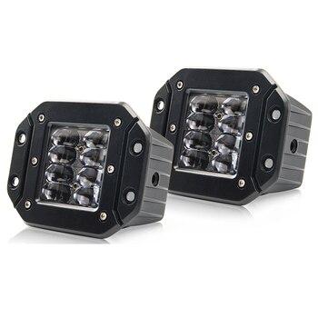 """CO LIGHT Super Bright 9D 80W Led Work Light 12V 5"""" Flood Driving Beam Strobe Led Light Bar 24V DRL for Trucks 4x4 ATV Fog Light"""