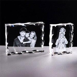 Image 4 - Foto Nach Kristall Foto Rahmen Personalisieren Laser Gravierte Foto Album Platz Bild Hochzeit Geschenk für Gäste Souvenir Geschenk