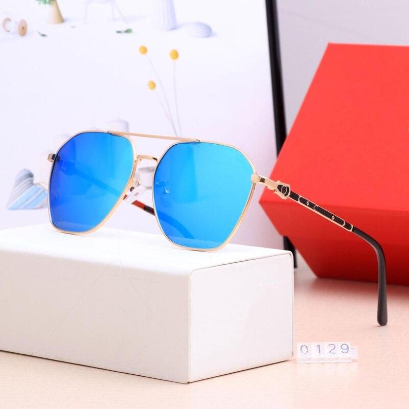 Солнцезащитные очки Мужские/wo мужские 2019 модные очки маленькие оправа для очков многогранник прозрачные линзы брендовые дизайнерские Винт