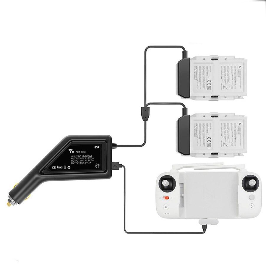 Auto Ladegerät Auto USB Port Lade Adapter für XIAOMI Drone FIMI X8 SE Batterie Controller X8 SE Zubehör