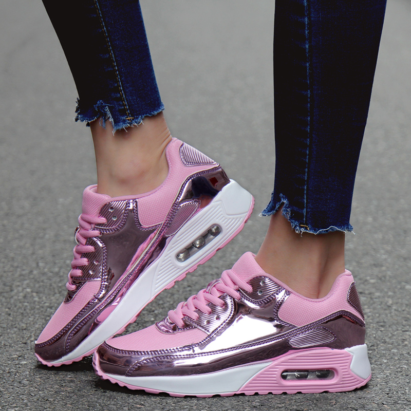 Spring Sneakers for Men Woman Outdoor Non slip Running Shoes Adults Air Cushion Sports Footwear Comfortable Jogging Athletic in Running Shoes from Sports Entertainment