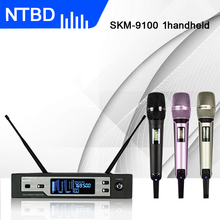 NTBD сценическое шоу вечерние хип-хоп домашние KTV Rap SKM9100 профессиональный беспроводной микрофон петличный/гарнитура истинное разнообразие